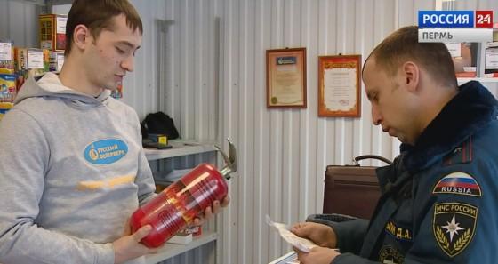 В Кудымкаре проверили места продаж пиротехни