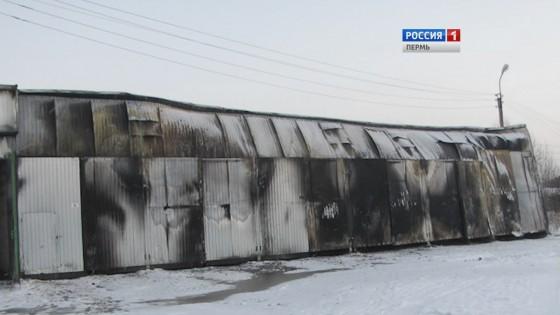 ВПрикамье ночью сгорели дотла 6 автобусов