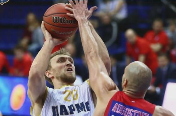 Баскетбольный клуб ЦСКА одержал победу постоянный чемпионат Единой лиги ВТБ