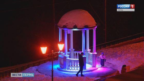 На пермской набережной ожили сказы Бажова