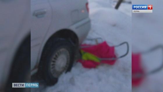 Пьяный водитель чуть не задавил трехлетнюю девочку