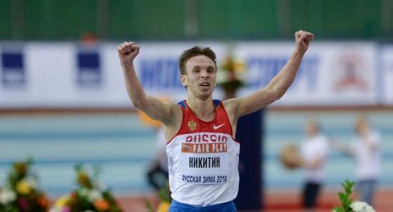 Бегун Владимир Никитин установил рекорд