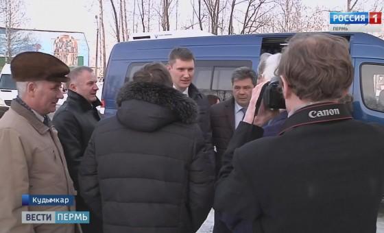 Максим Решетников провел в Кудымкаре ряд закрытых встреч