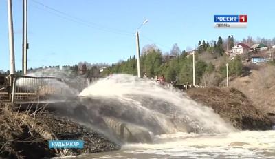 Уровень воды в Иньве растет
