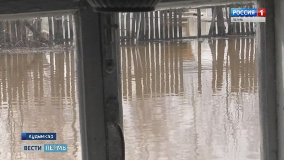 Море в огороде: Паводок пришел в Косинский район