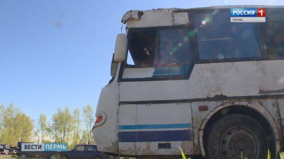 Смертельный рейс: Автобус перевернулся в кювет