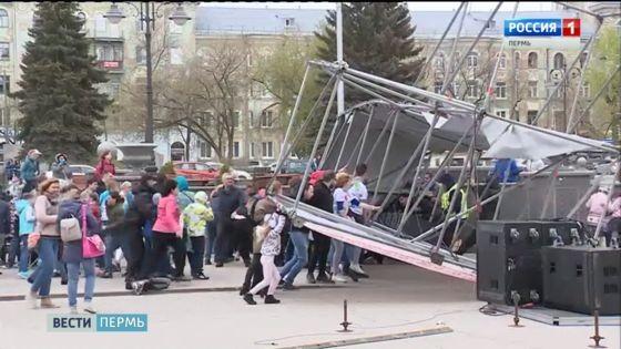 Падение конструкции уДК Солдатова могло случится из-за отсутствия высококачественного крепления