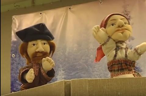 Кукольный театр на колёсах