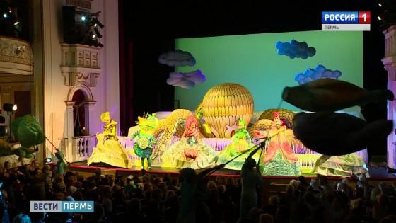 Сцену пермской оперы занял 7-метровый осьминог