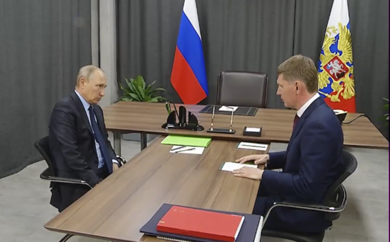 Путин и Решетников