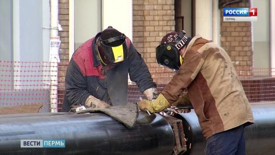Противоаварийные тренировки теплоэнергетиков провели в Перми