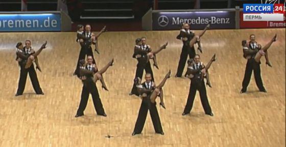 Пермяки танцуют «латину» лучше всех в России
