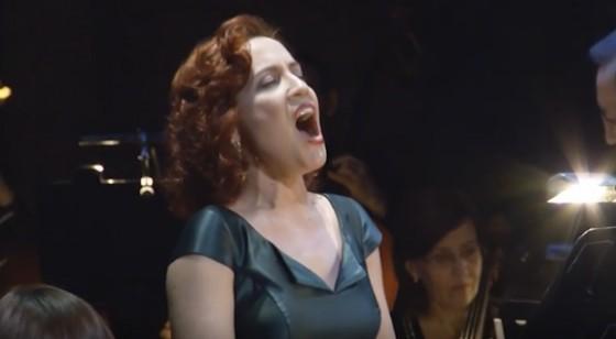 Оперная дива Надежда Павлова дала сольный концерт