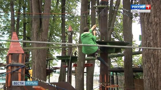 В Парке Горького прокомментировали ЧП в веревочном парке