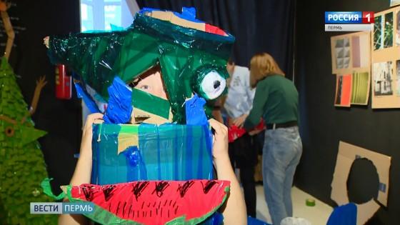 Дети креативят: «Чудовищный» курс в музее