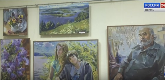 В Горьковке открылась выставка «Учитель – ученик»