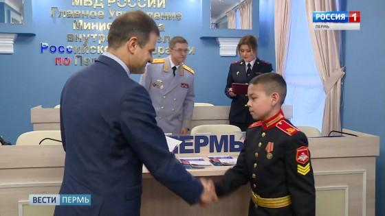 Юные суворовцы получили первые паспорта