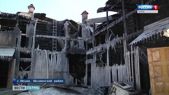 Жители Юсьвы выпрыгивали из окон, спасаясь от пожара