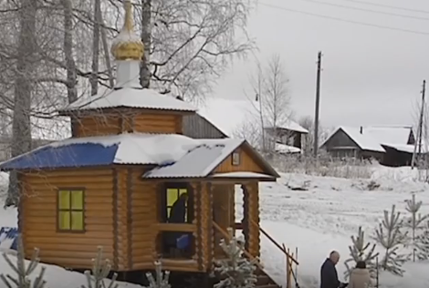 В Коми-Пермяцком округе открыли первую часовню-купель