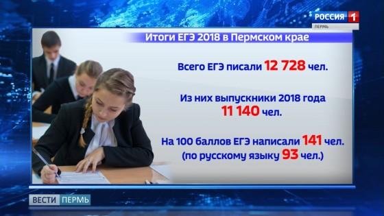 В Прикамье снизилось число стобалльников за ЕГЭ