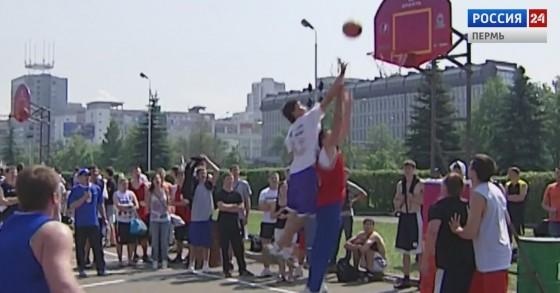 На пермскую эспланаду возвращается уличный баскетбол