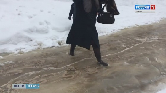 Репетиция паводка: Улицы Кудымкара затопило