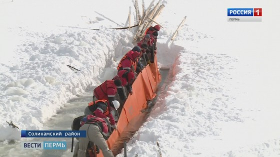 На реке Глухая Вильва боролись с разливом нефти