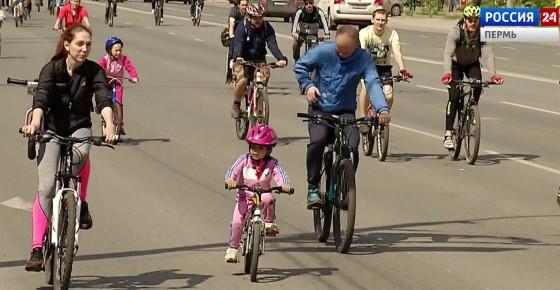 В Кудымкаре стартовал велосезон