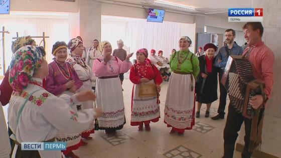 Национальный колорит: пистики, пу барабан и коми-пермяцкий тупи-тап