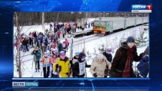 Лыжи и сноуборды в пермских электричках можно будет возить бесплатно