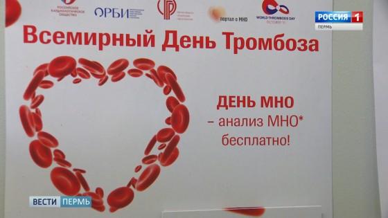 В «День МНО» пермяки контролируют свертываемость крови
