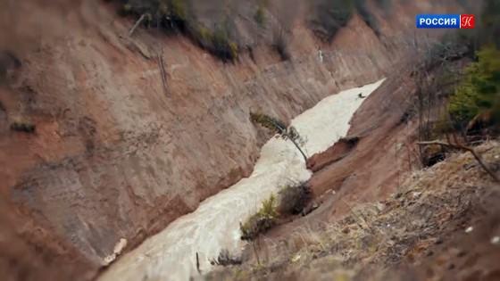 Канал Копань с высоты птичьего полета