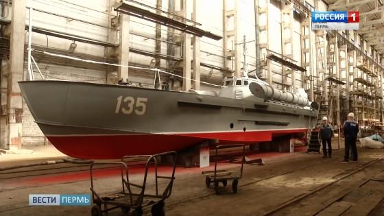 Пермские корабелы построили торпедный катер образца ВОВ