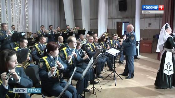 смотр оркестров