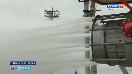 Фонтан горящей нефти: как отрабатывают навыки ликвидации ЧС