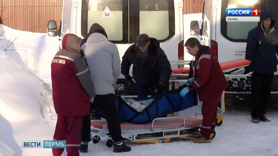 эвакуация постояльцев дома престарелых