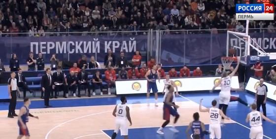 На игре «Парма»- ЦСКА установлен новый рекорд посещаемости сезона