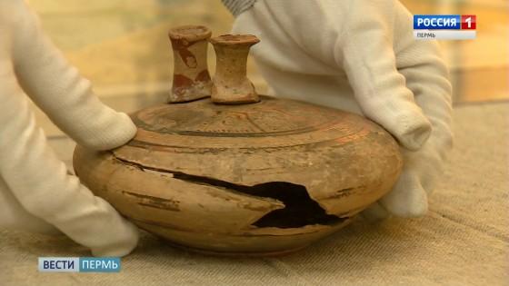 В запасниках музея ПГНИУ нашли вазу, которой более 3 тысяч лет