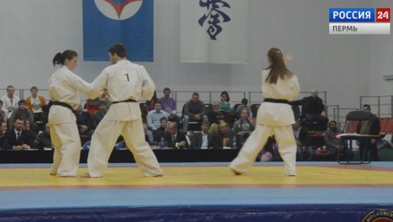 На Первенстве ПФО по киокусинкай каратэ прикамцы заняли первое место