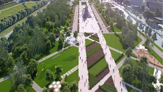 дизайн-проект 66-го квартала эспланады