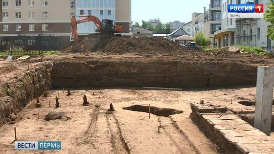 В Перми археологи обнаружили продолжение древнего кладбища