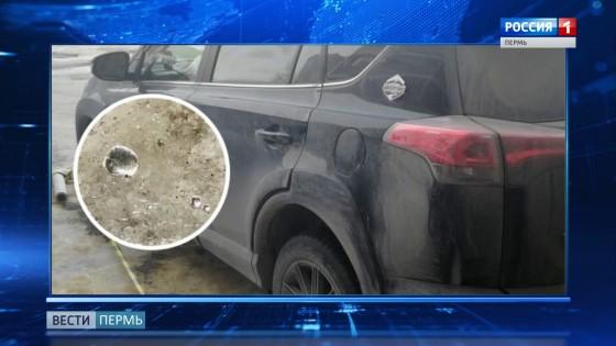 Автомобиль пермячки отравили ртутью