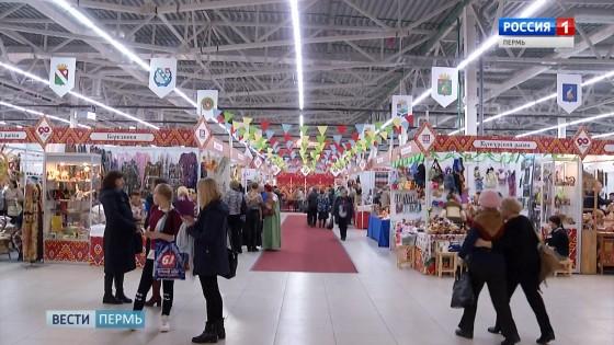 Выставка народных промыслов собрала больше сотни мастеров