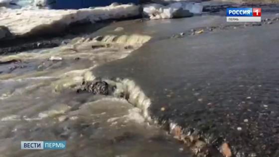 Коммунальное бедствие: Рабочий посёлок затопило нечистотами