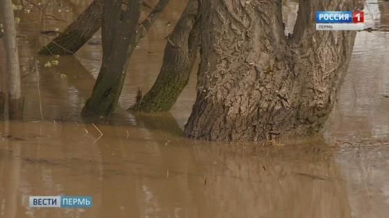 Коми-Пермяцкий округ: вода пошла на спад
