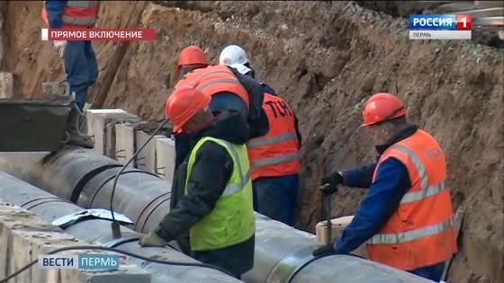 Работы на ул. Луначарского планируют завершить к Дню города