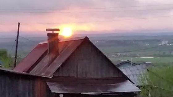 Пожар на газопроводе в Чусовском районе - столб огня был виден за несколько километров