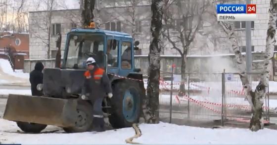 Коммунальщики сообщили о сроках ремонта теплосетей в микрорайоне Городские горки