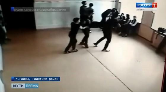 ЧП в гаинской школе