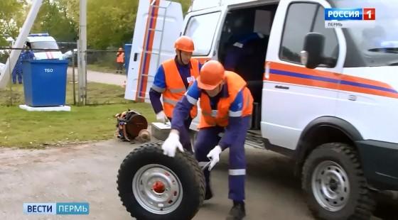 «Питстоп» у спасателей из Газпрома почти как в Формуле-1!